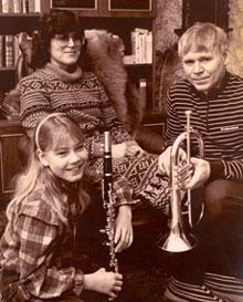 Risto Lampi perheineen