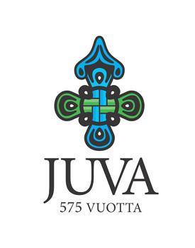 Juvan 575-juhlavuoden logo