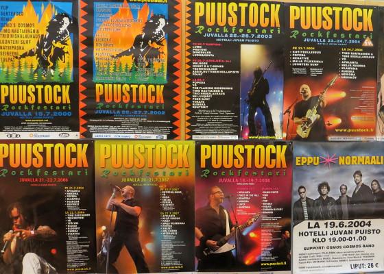 Puustock-festareiden historiaa 2000 – 2008
