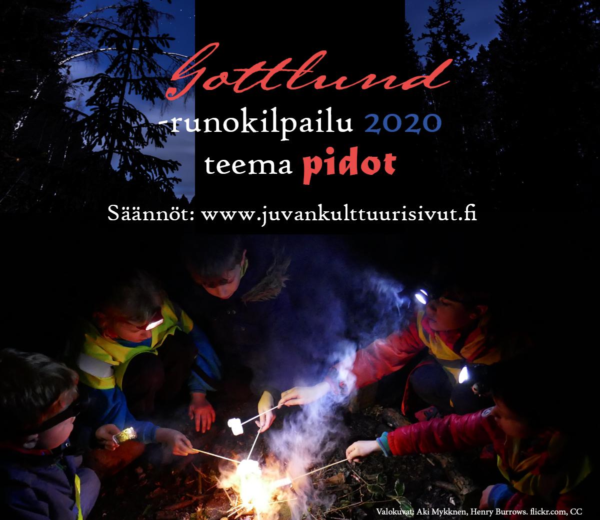 Pidot – Gottlund-runokilpailu 2020