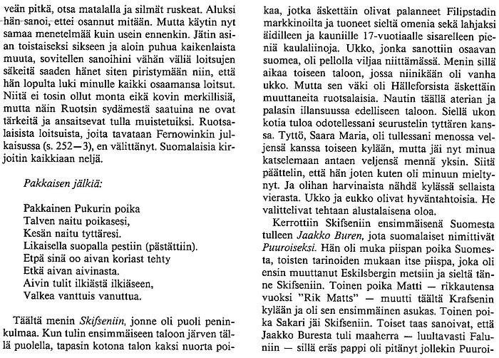 tekstikatkelma Gottlundin kirjasta