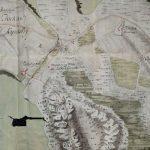 Männynmäkeä vuoden 1777 rekognosointikartassa.